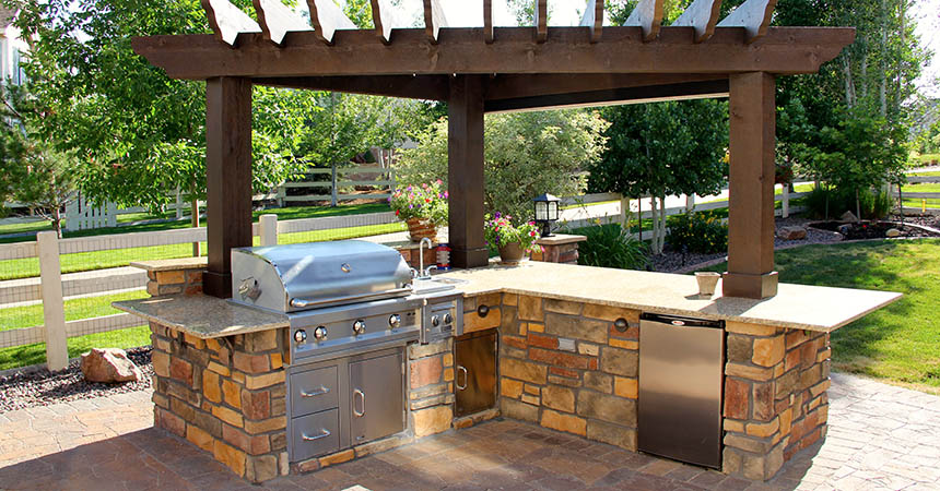 Southwestern Outdoor Kitchen Lifestyle Outdoor Kitchens