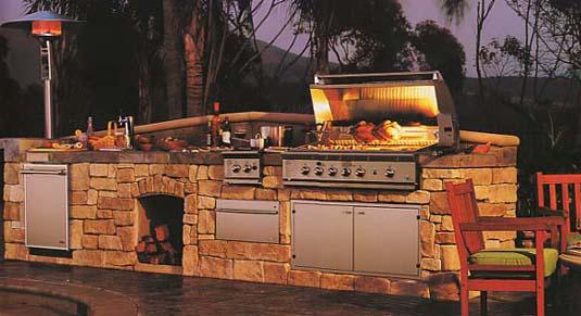 Stacked Stone Outdoor Kitchen Lifestyle Outdoor Kitchens